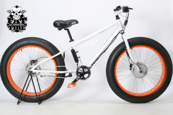 Fat Tire AT Bike All Terrain Cruiser III side
